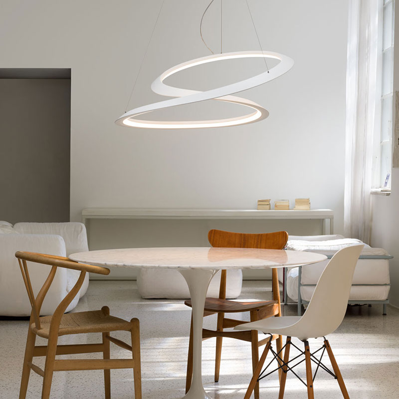 Nemo Kepler Minor Pendant Lamp by A. Miyake 2 Olson and Baker - Designer & Contemporary Sofas, Furniture - Olson and Baker showcases original designs from authentic, designer brands. Buy contemporary furniture, lighting, storage, sofas & chairs at Olson + Baker.