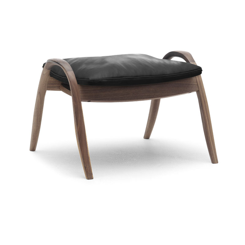 Carl Hansen FH430 Signature Footstool by Frits Hanningsen Olson and Baker - Designer & Contemporary Sofas, Furniture - Olson and Baker showcases original designs from authentic, designer brands. Buy contemporary furniture, lighting, storage, sofas & chairs at Olson + Baker.