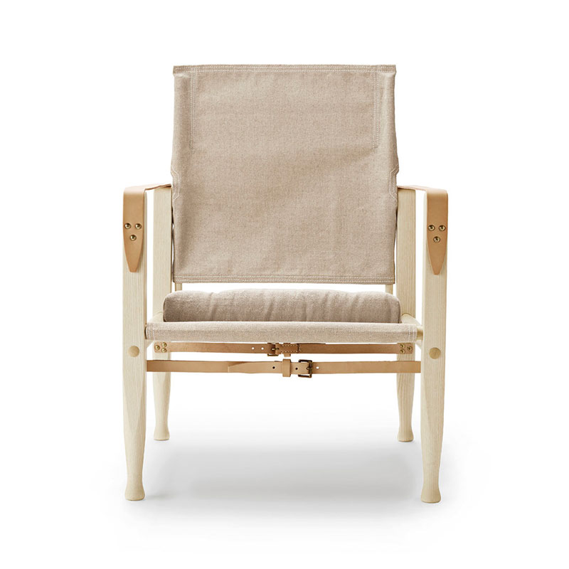 Carl Hansen KK47000 Safari Chair by Kaare Klint Olson and Baker - Designer & Contemporary Sofas, Furniture - Olson and Baker showcases original designs from authentic, designer brands. Buy contemporary furniture, lighting, storage, sofas & chairs at Olson + Baker.