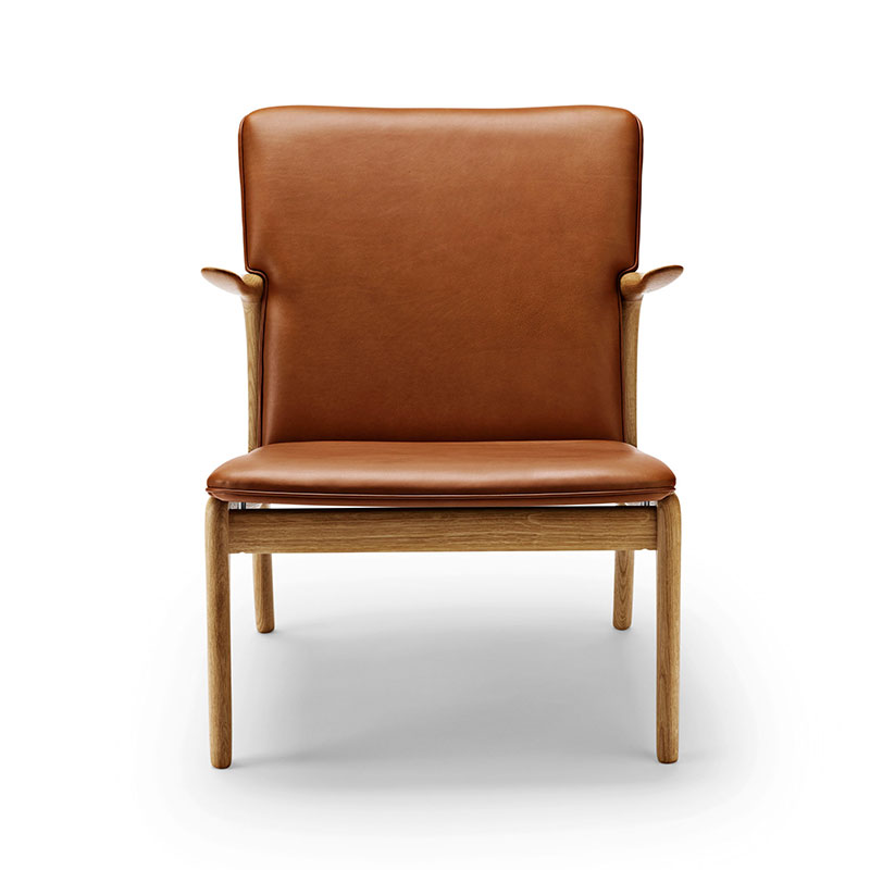 Carl Hansen OW124 Beak Lounge Chair by Ole Wanscher Olson and Baker - Designer & Contemporary Sofas, Furniture - Olson and Baker showcases original designs from authentic, designer brands. Buy contemporary furniture, lighting, storage, sofas & chairs at Olson + Baker.