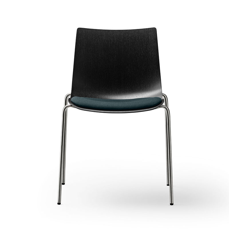 Carl Hansen BA002S Preludia Seat Upholstered Chair by Brad Ascalon