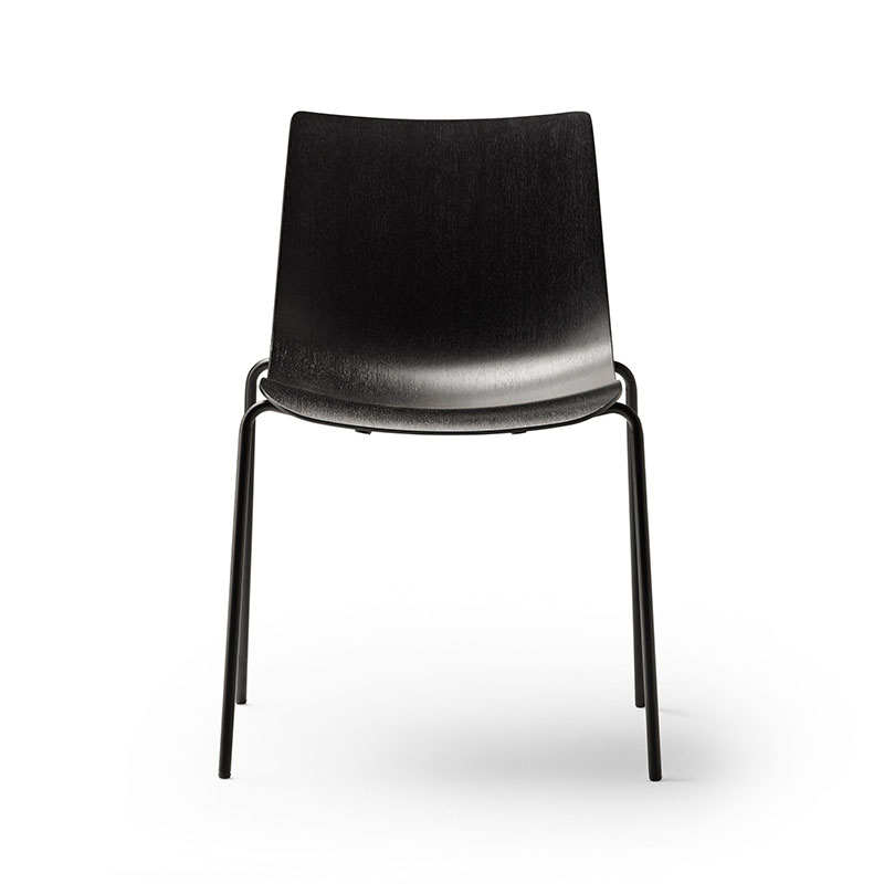 Carl Hansen BA002T Preludia Stackable Chair by Brad Ascalon Olson and Baker - Designer & Contemporary Sofas, Furniture - Olson and Baker showcases original designs from authentic, designer brands. Buy contemporary furniture, lighting, storage, sofas & chairs at Olson + Baker.