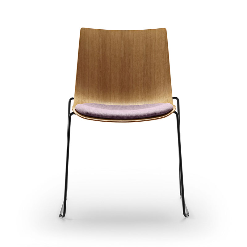 Carl Hansen BA003S Preludia Sled Seat Upholstered Chair by Brad Ascalon