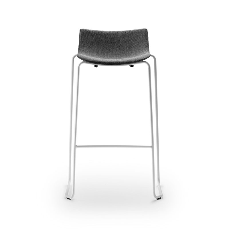 Carl Hansen BA004F Preludia Fully Uphostered Counter Stool by Brad Ascalon Olson and Baker - Designer & Contemporary Sofas, Furniture - Olson and Baker showcases original designs from authentic, designer brands. Buy contemporary furniture, lighting, storage, sofas & chairs at Olson + Baker.