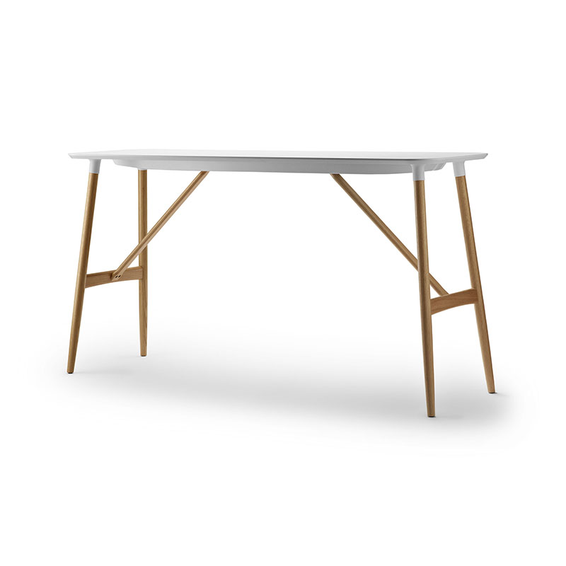 Carl Hansen BA102 Preludia 200x60cm Bar Table by Brad Ascalon Olson and Baker - Designer & Contemporary Sofas, Furniture - Olson and Baker showcases original designs from authentic, designer brands. Buy contemporary furniture, lighting, storage, sofas & chairs at Olson + Baker.