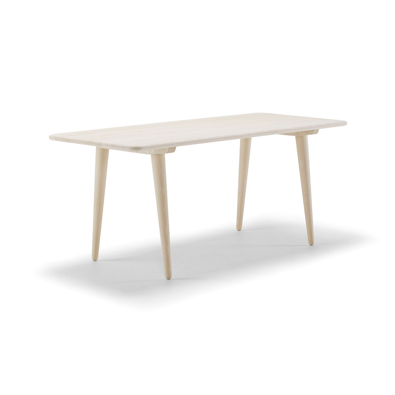 Carl Hansen CH011 Coffee Table by Hans Wegner in Soaped Oak 2 Olson and Baker - Designer & Contemporary Sofas, Furniture - Olson and Baker showcases original designs from authentic, designer brands. Buy contemporary furniture, lighting, storage, sofas & chairs at Olson + Baker.