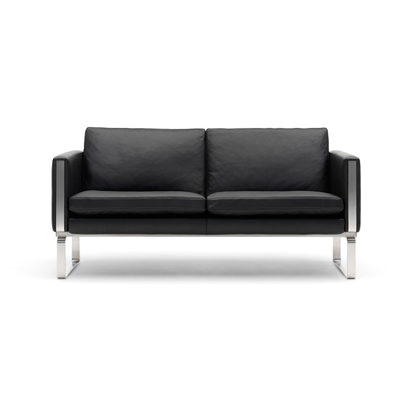 Carl Hansen CH102 Two Seat Sofa by Hans Wegner Olson and Baker - Designer & Contemporary Sofas, Furniture - Olson and Baker showcases original designs from authentic, designer brands. Buy contemporary furniture, lighting, storage, sofas & chairs at Olson + Baker.
