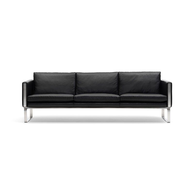 Carl Hansen CH103 Three Seat Sofa by Hans Wegner Olson and Baker - Designer & Contemporary Sofas, Furniture - Olson and Baker showcases original designs from authentic, designer brands. Buy contemporary furniture, lighting, storage, sofas & chairs at Olson + Baker.