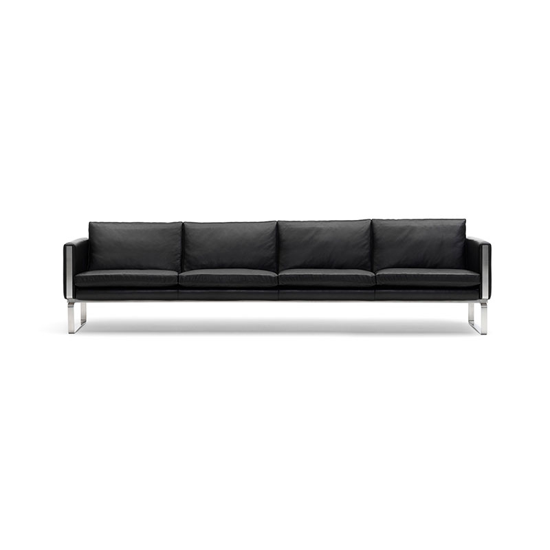 Carl Hansen CH104 Four Seat Sofa by Hans Wegner Olson and Baker - Designer & Contemporary Sofas, Furniture - Olson and Baker showcases original designs from authentic, designer brands. Buy contemporary furniture, lighting, storage, sofas & chairs at Olson + Baker.