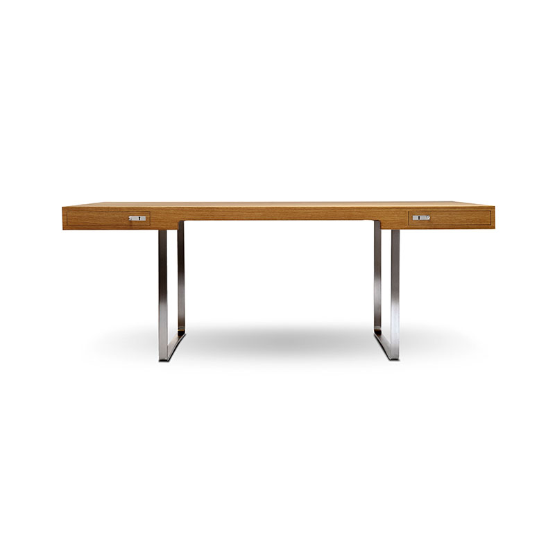 Carl Hansen CH110 Desk by Hans Wegner Olson and Baker - Designer & Contemporary Sofas, Furniture - Olson and Baker showcases original designs from authentic, designer brands. Buy contemporary furniture, lighting, storage, sofas & chairs at Olson + Baker.