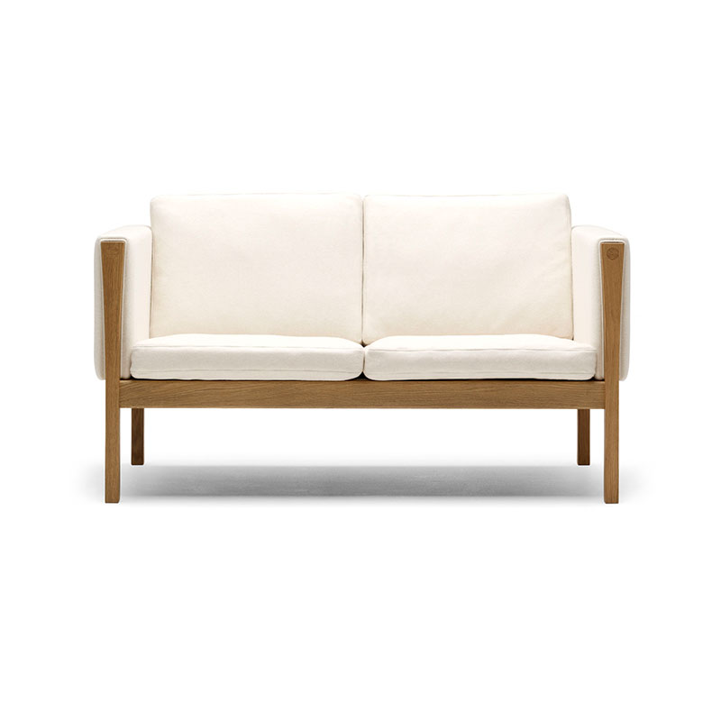Carl Hansen CH162 Two Seat Sofa by Hans Wegner Olson and Baker - Designer & Contemporary Sofas, Furniture - Olson and Baker showcases original designs from authentic, designer brands. Buy contemporary furniture, lighting, storage, sofas & chairs at Olson + Baker.