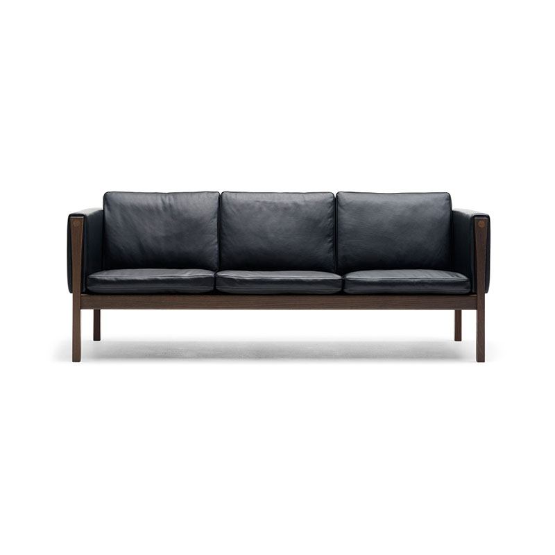 Carl Hansen CH163 Three Seat Sofa by Hans Wegner Olson and Baker - Designer & Contemporary Sofas, Furniture - Olson and Baker showcases original designs from authentic, designer brands. Buy contemporary furniture, lighting, storage, sofas & chairs at Olson + Baker.