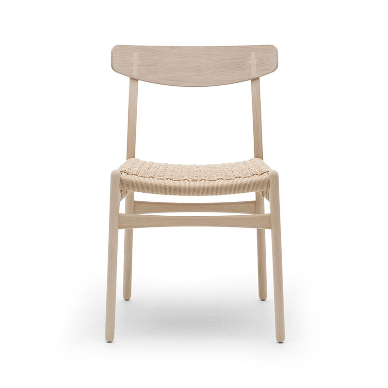 Carl Hansen CH23 Chair by Hans Wegner Olson and Baker - Designer & Contemporary Sofas, Furniture - Olson and Baker showcases original designs from authentic, designer brands. Buy contemporary furniture, lighting, storage, sofas & chairs at Olson + Baker.