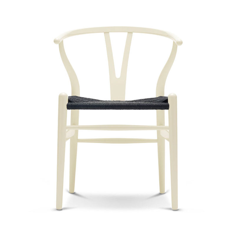 Carl Hansen CH24 Wishbone Chair Painted Frame by Hans Wegner Olson and Baker - Designer & Contemporary Sofas, Furniture - Olson and Baker showcases original designs from authentic, designer brands. Buy contemporary furniture, lighting, storage, sofas & chairs at Olson + Baker.