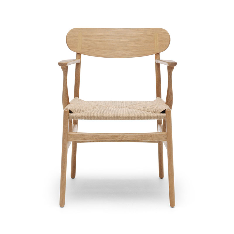 Carl Hansen CH26 Dining Chair by Hans Wegner Olson and Baker - Designer & Contemporary Sofas, Furniture - Olson and Baker showcases original designs from authentic, designer brands. Buy contemporary furniture, lighting, storage, sofas & chairs at Olson + Baker.