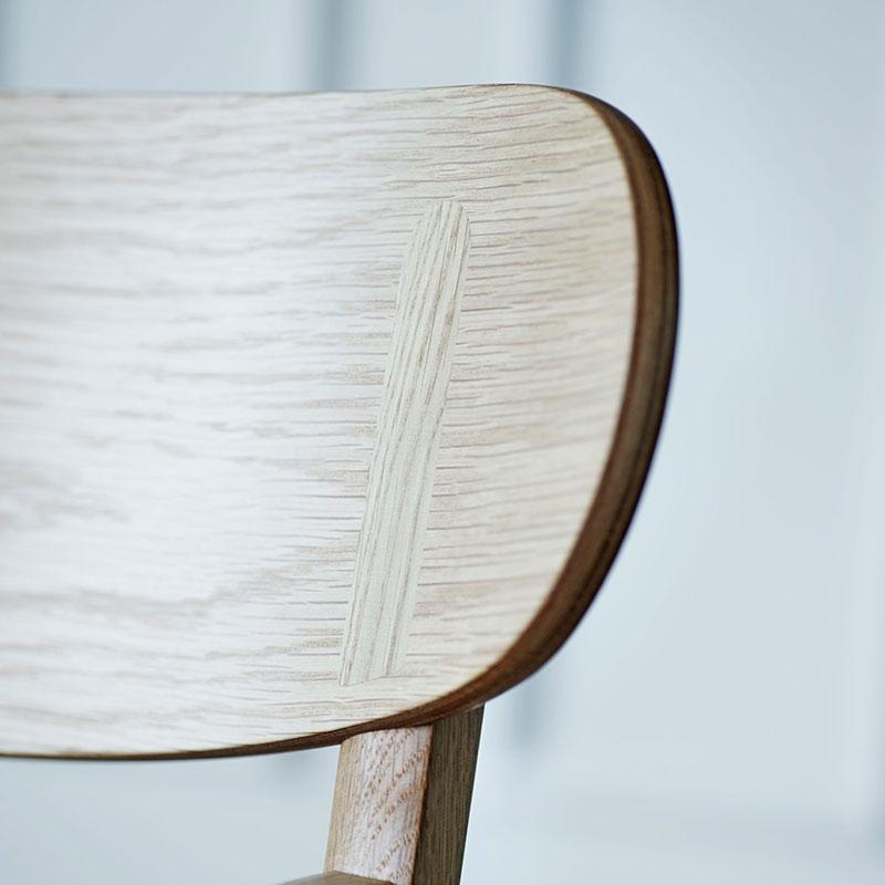 Carl Hansen CH26 Dining Chair by Hans Wegner life 4 Olson and Baker - Designer & Contemporary Sofas, Furniture - Olson and Baker showcases original designs from authentic, designer brands. Buy contemporary furniture, lighting, storage, sofas & chairs at Olson + Baker.