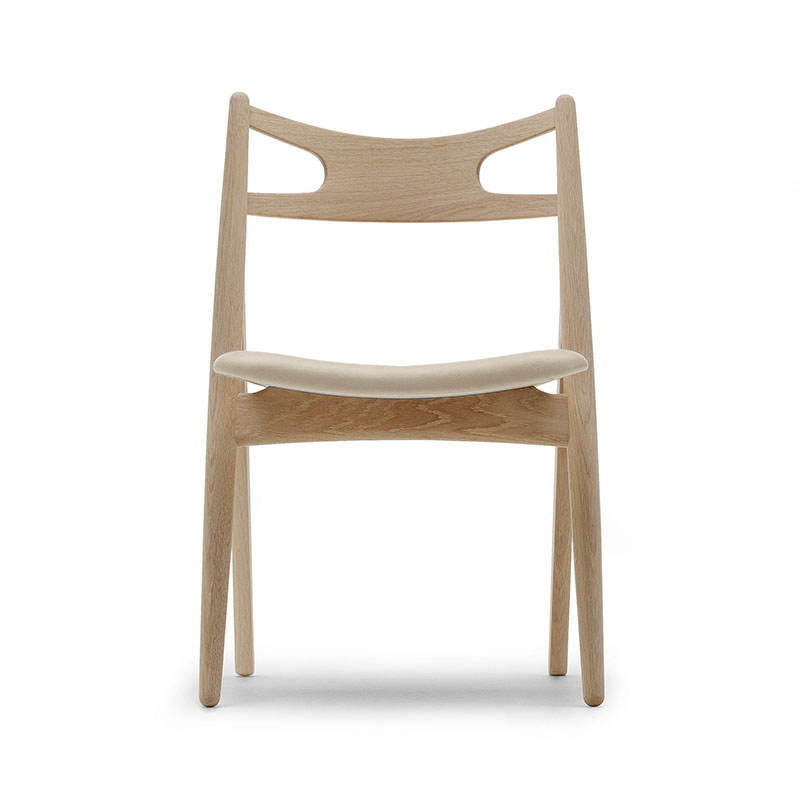 Carl Hansen CH29P Sawbuck Chair by Hans Wegner Olson and Baker - Designer & Contemporary Sofas, Furniture - Olson and Baker showcases original designs from authentic, designer brands. Buy contemporary furniture, lighting, storage, sofas & chairs at Olson + Baker.