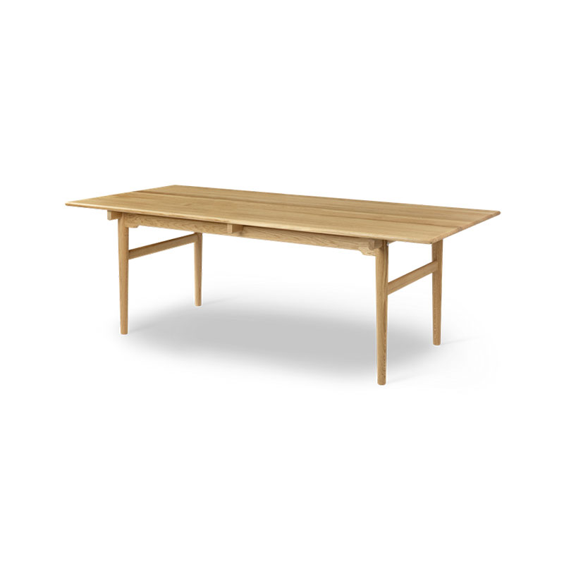 Carl Hansen CH327 248-368x95cm Extendable Dining Table by Hans Wegner Olson and Baker - Designer & Contemporary Sofas, Furniture - Olson and Baker showcases original designs from authentic, designer brands. Buy contemporary furniture, lighting, storage, sofas & chairs at Olson + Baker.