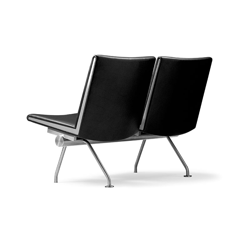 Carl Hansen CH401 Lounge Chair by Hans Wegner Thor 301 Leather 2 Olson and Baker - Designer & Contemporary Sofas, Furniture - Olson and Baker showcases original designs from authentic, designer brands. Buy contemporary furniture, lighting, storage, sofas & chairs at Olson + Baker.