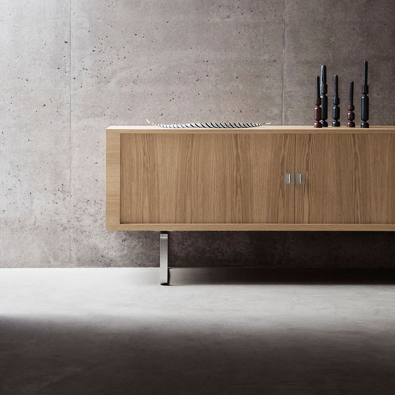 Carl Hansen CH825 Credenza by Hans Wegner Oil life 2 Olson and Baker - Designer & Contemporary Sofas, Furniture - Olson and Baker showcases original designs from authentic, designer brands. Buy contemporary furniture, lighting, storage, sofas & chairs at Olson + Baker.