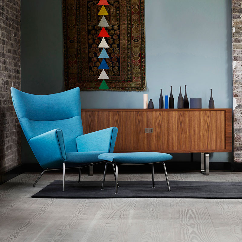 Carl Hansen CH825 Credenza by Hans Wegner Oil life 3 Olson and Baker - Designer & Contemporary Sofas, Furniture - Olson and Baker showcases original designs from authentic, designer brands. Buy contemporary furniture, lighting, storage, sofas & chairs at Olson + Baker.