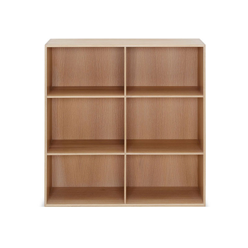 Carl Hansen MK40880 Bookcase by Mogens Koch Olson and Baker - Designer & Contemporary Sofas, Furniture - Olson and Baker showcases original designs from authentic, designer brands. Buy contemporary furniture, lighting, storage, sofas & chairs at Olson + Baker.
