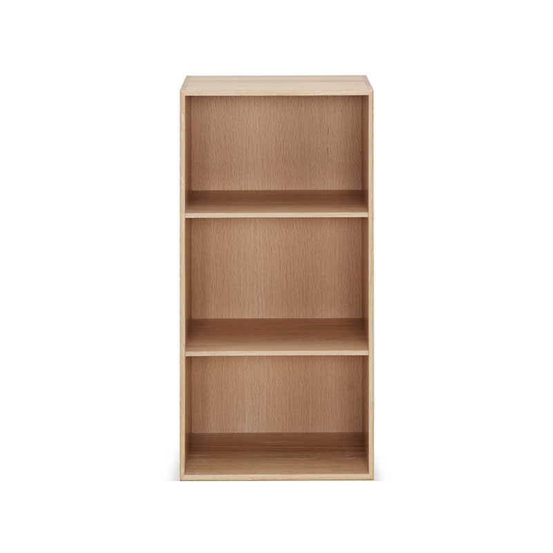 Carl Hansen MK74182 Deep Bookcase by Mogens Koch Olson and Baker - Designer & Contemporary Sofas, Furniture - Olson and Baker showcases original designs from authentic, designer brands. Buy contemporary furniture, lighting, storage, sofas & chairs at Olson + Baker.