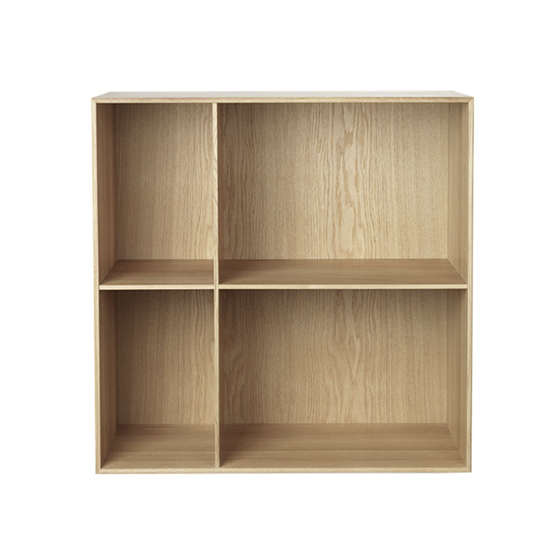Carl Hansen MK98400 Deep Bookcase by Mogens Koch Olson and Baker - Designer & Contemporary Sofas, Furniture - Olson and Baker showcases original designs from authentic, designer brands. Buy contemporary furniture, lighting, storage, sofas & chairs at Olson + Baker.