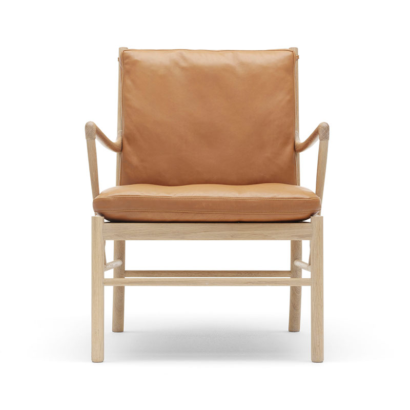 Carl Hansen OW149 Colonial Lounge Chair by Ole Wanscher