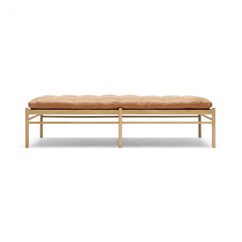 Carl Hansen OW150 Daybed by Ole Wanscher Olson and Baker - Designer & Contemporary Sofas, Furniture - Olson and Baker showcases original designs from authentic, designer brands. Buy contemporary furniture, lighting, storage, sofas & chairs at Olson + Baker.