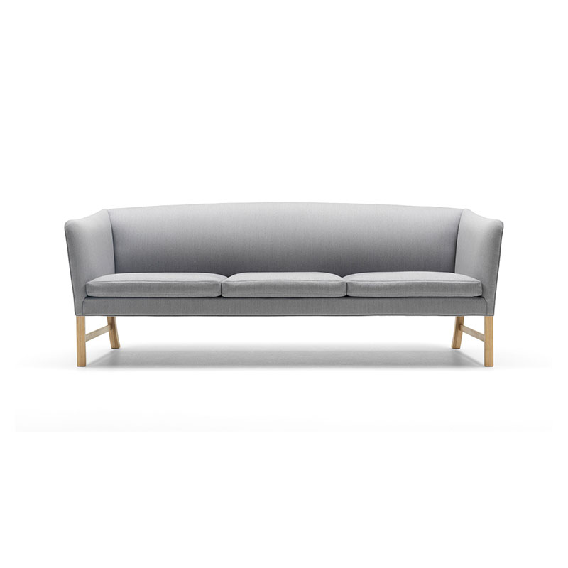 Carl Hansen OW603 Three Seat Sofa by Ole Wanscher Olson and Baker - Designer & Contemporary Sofas, Furniture - Olson and Baker showcases original designs from authentic, designer brands. Buy contemporary furniture, lighting, storage, sofas & chairs at Olson + Baker.