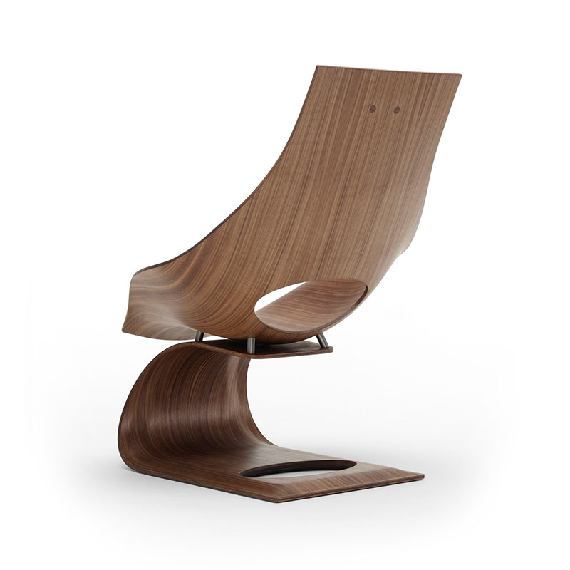 Carl Hansen TA001T Unupholstered Dream Chair by Tadao Ando Walnut 2.0 Olson and Baker - Designer & Contemporary Sofas, Furniture - Olson and Baker showcases original designs from authentic, designer brands. Buy contemporary furniture, lighting, storage, sofas & chairs at Olson + Baker.