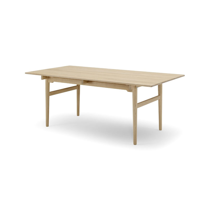 Carl Hansen CH327 190-310x95cm Extendable Dining Table by Hans Wegner Olson and Baker - Designer & Contemporary Sofas, Furniture - Olson and Baker showcases original designs from authentic, designer brands. Buy contemporary furniture, lighting, storage, sofas & chairs at Olson + Baker.