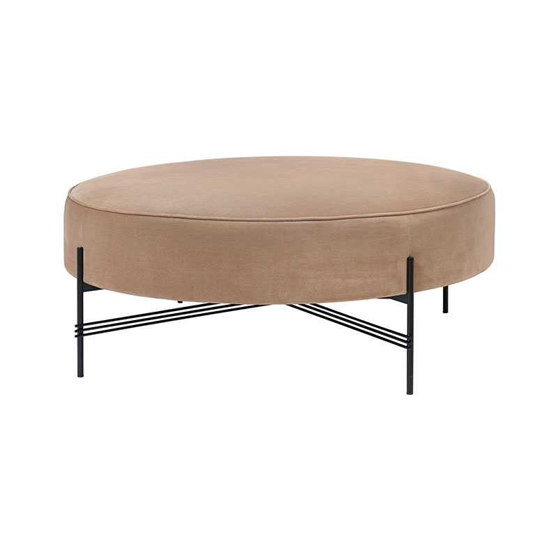 Gubi TS Ø105cm Pouffe by GamFratesi Olson and Baker - Designer & Contemporary Sofas, Furniture - Olson and Baker showcases original designs from authentic, designer brands. Buy contemporary furniture, lighting, storage, sofas & chairs at Olson + Baker.