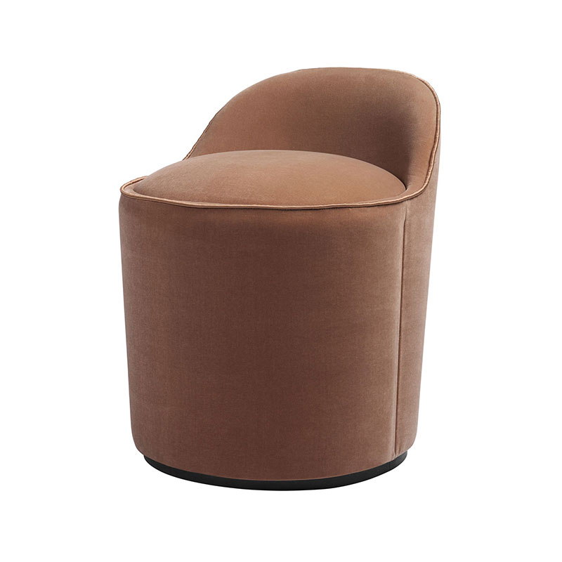 Gubi Tail Low Back Lounge Chair by GamFratesi Olson and Baker - Designer & Contemporary Sofas, Furniture - Olson and Baker showcases original designs from authentic, designer brands. Buy contemporary furniture, lighting, storage, sofas & chairs at Olson + Baker.