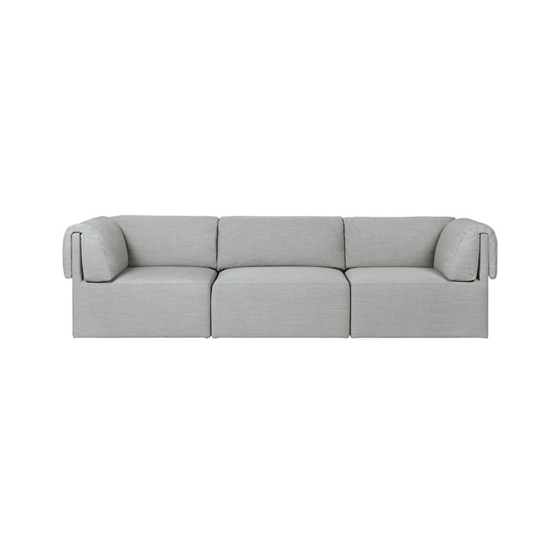 Gubi Wonder Three Seat Sofa by Space Copenhagen Olson and Baker - Designer & Contemporary Sofas, Furniture - Olson and Baker showcases original designs from authentic, designer brands. Buy contemporary furniture, lighting, storage, sofas & chairs at Olson + Baker.
