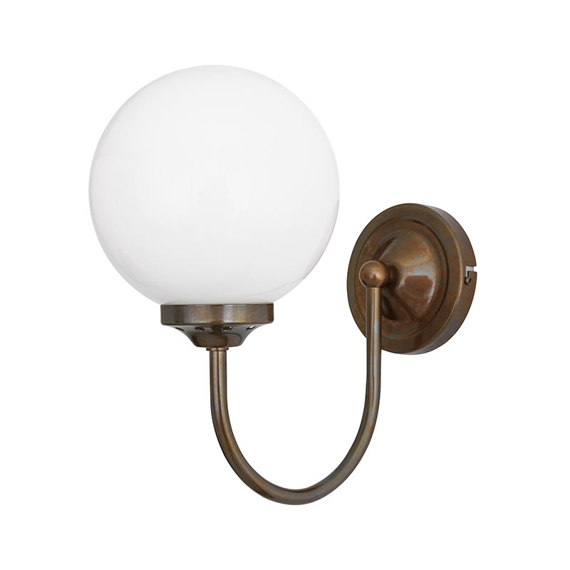 Mullan Lighting Bragan Wall Lamp by Mullan Lighting Olson and Baker - Designer & Contemporary Sofas, Furniture - Olson and Baker showcases original designs from authentic, designer brands. Buy contemporary furniture, lighting, storage, sofas & chairs at Olson + Baker.