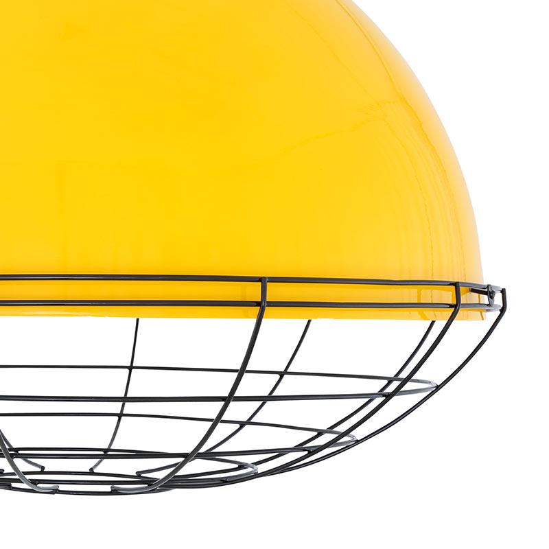 Mullan_Lighting_Brussells_Pendant_by_Mullan_Lighting_Yellow_3 Olson and Baker - Designer & Contemporary Sofas, Furniture - Olson and Baker showcases original designs from authentic, designer brands. Buy contemporary furniture, lighting, storage, sofas & chairs at Olson + Baker.