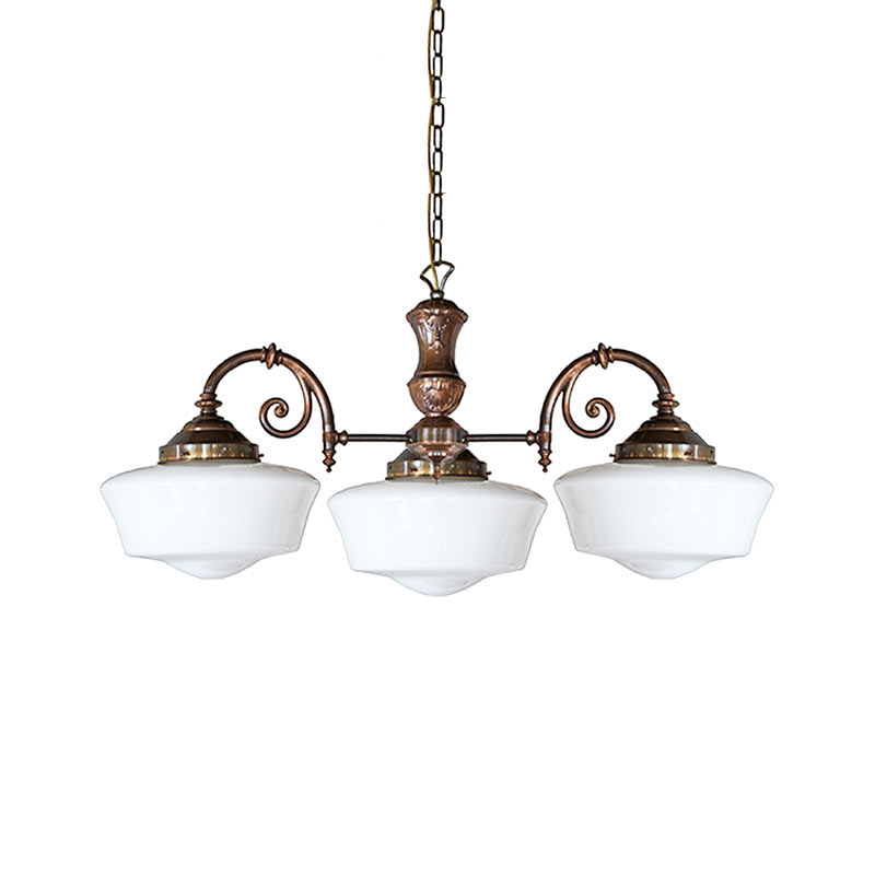 Mullan Lighting Clones Three Arm Chandelier by Mullan Lighting Olson and Baker - Designer & Contemporary Sofas, Furniture - Olson and Baker showcases original designs from authentic, designer brands. Buy contemporary furniture, lighting, storage, sofas & chairs at Olson + Baker.