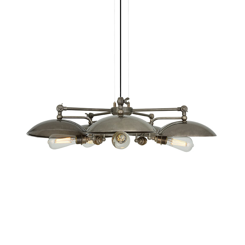 Mullan Lighting Cullen B Five Arm Chandelier by Mullan Lighting Olson and Baker - Designer & Contemporary Sofas, Furniture - Olson and Baker showcases original designs from authentic, designer brands. Buy contemporary furniture, lighting, storage, sofas & chairs at Olson + Baker.