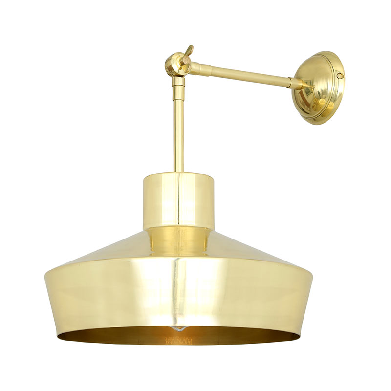 Mullan_Lighting_Elegance_Wall_Lamp_by_Mullan_Lighting_Polished_Brass_1 Olson and Baker - Designer & Contemporary Sofas, Furniture - Olson and Baker showcases original designs from authentic, designer brands. Buy contemporary furniture, lighting, storage, sofas & chairs at Olson + Baker.