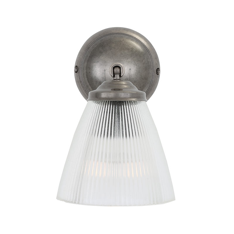 Mullan_Lighting_Gadar_Wall_Lamp_by_Mullan_Lighting_Antique_Silver_4 Olson and Baker - Designer & Contemporary Sofas, Furniture - Olson and Baker showcases original designs from authentic, designer brands. Buy contemporary furniture, lighting, storage, sofas & chairs at Olson + Baker.