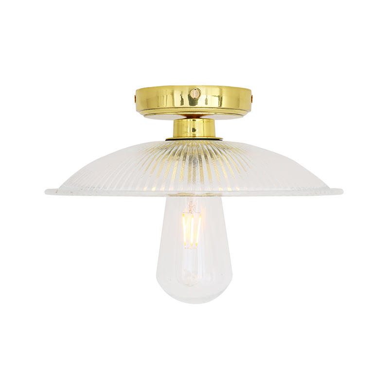 Mullan_Lighting_Gal_Ceiling_Light_by_Mullan_Lighting_Polished_Brass_2 Olson and Baker - Designer & Contemporary Sofas, Furniture - Olson and Baker showcases original designs from authentic, designer brands. Buy contemporary furniture, lighting, storage, sofas & chairs at Olson + Baker.