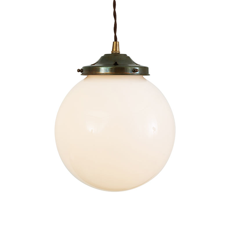 Mullan Lighting Gentry 20cm Pendant Light by Mullan Lighting Olson and Baker - Designer & Contemporary Sofas, Furniture - Olson and Baker showcases original designs from authentic, designer brands. Buy contemporary furniture, lighting, storage, sofas & chairs at Olson + Baker.