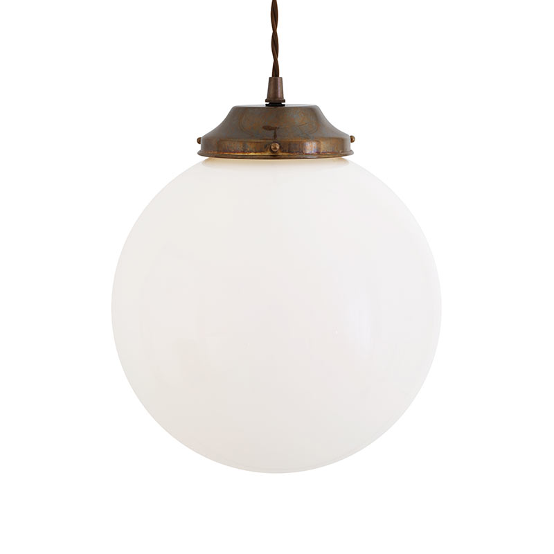 Mullan Lighting Gentry 25cm Pendant Light by Mullan Lighting Olson and Baker - Designer & Contemporary Sofas, Furniture - Olson and Baker showcases original designs from authentic, designer brands. Buy contemporary furniture, lighting, storage, sofas & chairs at Olson + Baker.