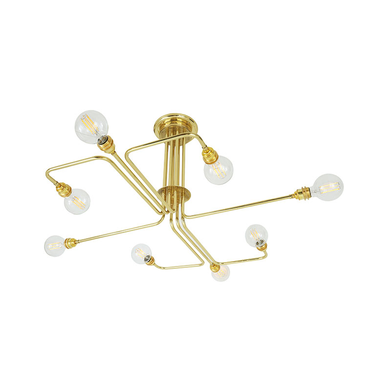 Mullan_Lighting_Irbid_Chandelier_by_Mullan_Lighting_Polished_Brass_1 Olson and Baker - Designer & Contemporary Sofas, Furniture - Olson and Baker showcases original designs from authentic, designer brands. Buy contemporary furniture, lighting, storage, sofas & chairs at Olson + Baker.