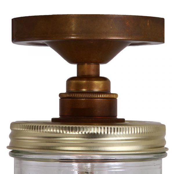 Jam Jar Ceiling Light