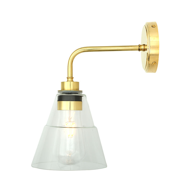 Mullan_Lighting_Kairi_Wall_Lamp_by_Mullan_Lighting_Polished_Brass_4 Olson and Baker - Designer & Contemporary Sofas, Furniture - Olson and Baker showcases original designs from authentic, designer brands. Buy contemporary furniture, lighting, storage, sofas & chairs at Olson + Baker.