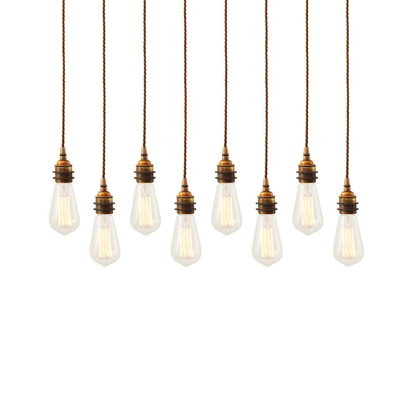 Mullan Lighting Lome Cluster of Eight Chandelier by Mullan Lighting
