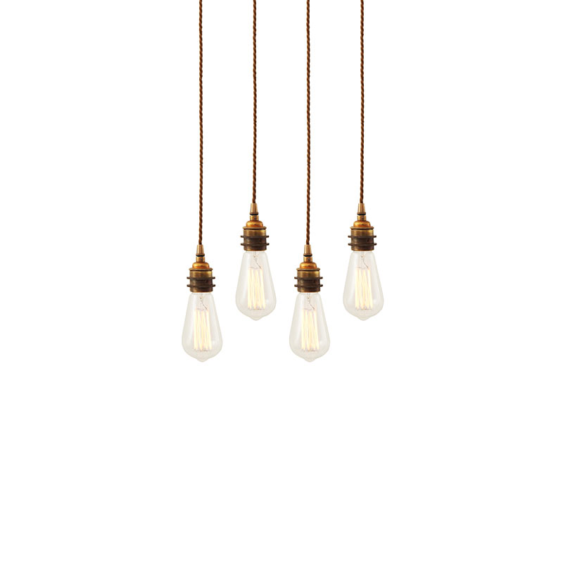 Mullan Lighting Lome Cluster of Four Chandelier by Mullan Lighting Olson and Baker - Designer & Contemporary Sofas, Furniture - Olson and Baker showcases original designs from authentic, designer brands. Buy contemporary furniture, lighting, storage, sofas & chairs at Olson + Baker.